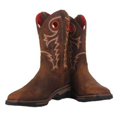 R. Watson Men's Buffalo Steel Toe Work Boots
