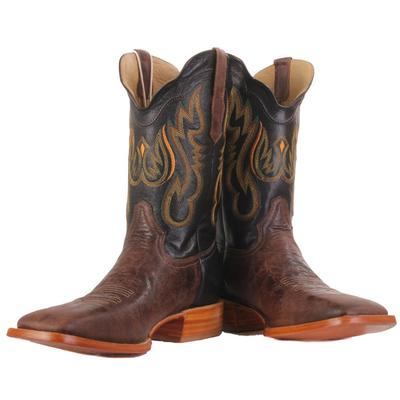 R. Watson Men's Antique Goat Western Boots