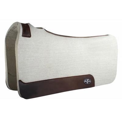 PC 1 inch Steam Pressed Comfort-Fit Felt Saddle Pad