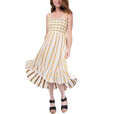 Uncle Frank Women's Smocked Top Sun Dress