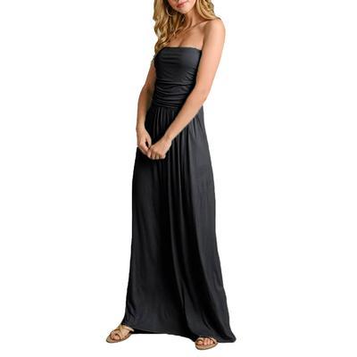 Women's Tube Top Maxi Dress