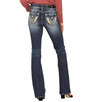 Miss Me Women's Fly Life Bootcut Jeans