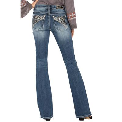 Miss Me Women's In Your Tribe Bootcut Jeans
