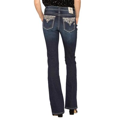 Miss Me Women's Live Bright Bootcut Jeans