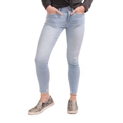 Miss Me Women's Lightwash Ankle Skinny Jeans