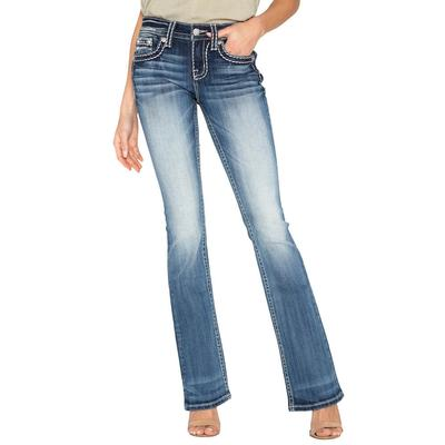 Miss Me Women's Classic Style Bootcut Jeans
