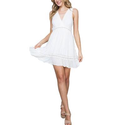 Women's Sleeveless Flared Dress