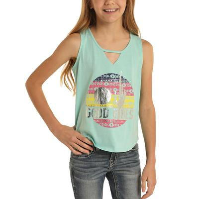 Panhandle Girl's Good Vibes Tank Top