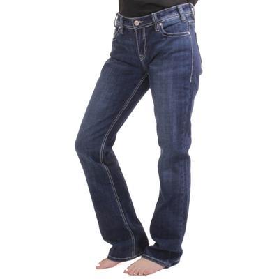 M&F Western Women's Dark Wash Riding Jeans