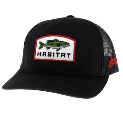 Hooey Black Fish Logo Patch Cap