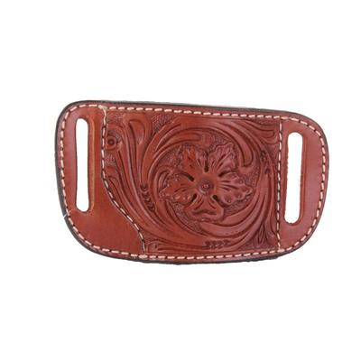 Floral Tooled Leather Gun Holster