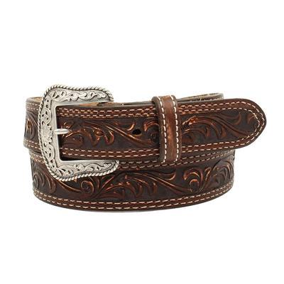 Nocona Pecos Tooled Belt