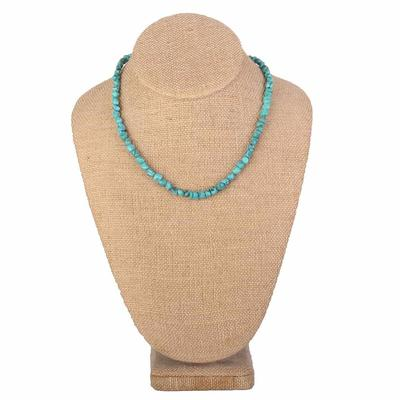 Single Strand Turquoise Stone Necklace