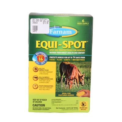 Equi-Spot Fly Control- 6 Week Supply