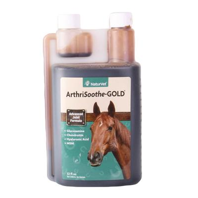 Naturvet Arthrisoothe Gold Liquid For Horses 32oz