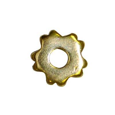 Brass 5 Point Grooved Rowel