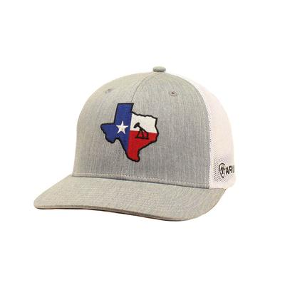 M&F Western Ariat Men's Texas Oil Logo Cap