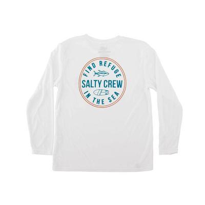 Salty Crew Boy's Twin Fin Tech T-Shirt