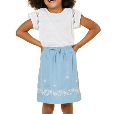 Hayden Girl's Heathered Jersey Top