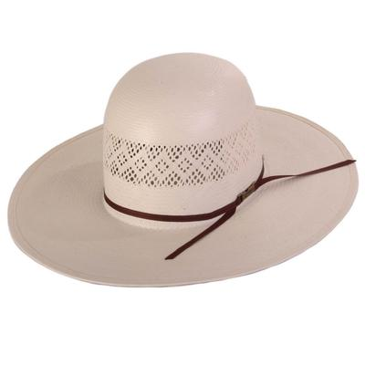 American Hat Co. Men's 4 1/4 Brim Straw Hat With Band
