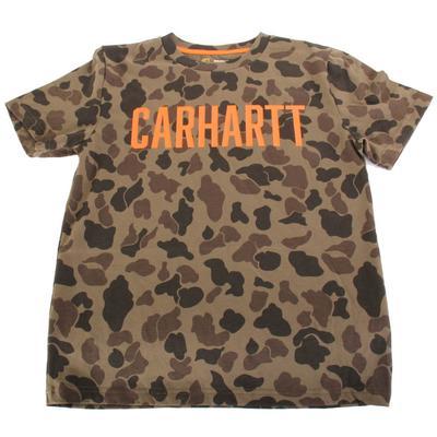 Carhartt Boy's Short Sleeve Camo T-Shirt