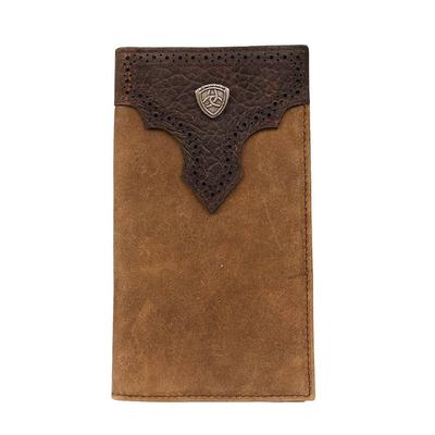 Ariat Men's Bifold Rodeo Shield Overlay Wallet