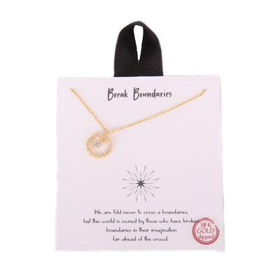 Break Boundaries Necklace