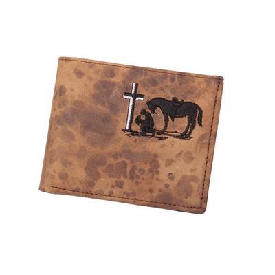 Twisted X Bifold Praying Cowboy Wallet