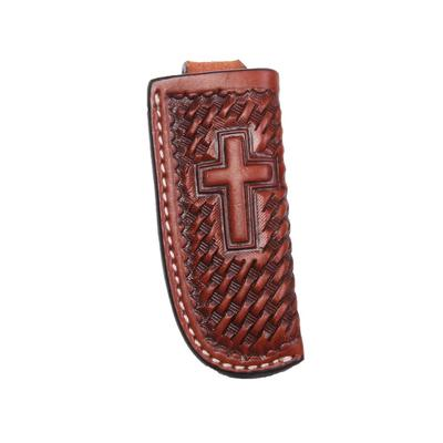 Basket Weave & Cross Knife Sheath
