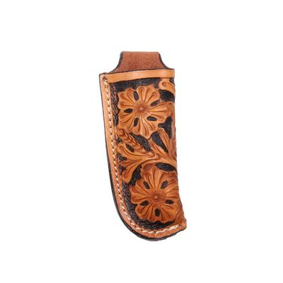 Floral Contrasted Knife Sheath