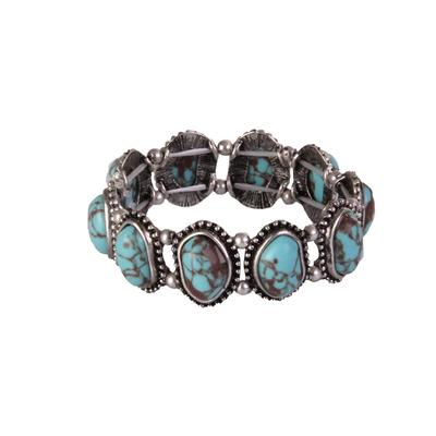 Small Turquoise Stretch Bracelet