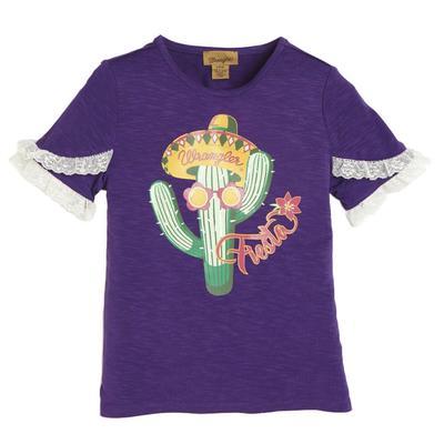 Wrangler Girl's Purple Fiesta Top