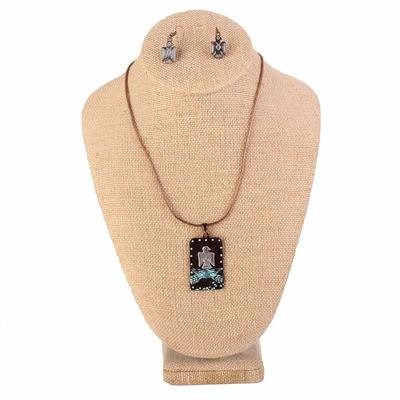 Large Thunderbird Jewelry Set