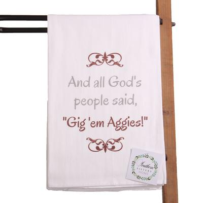 All God's People Hand Towel