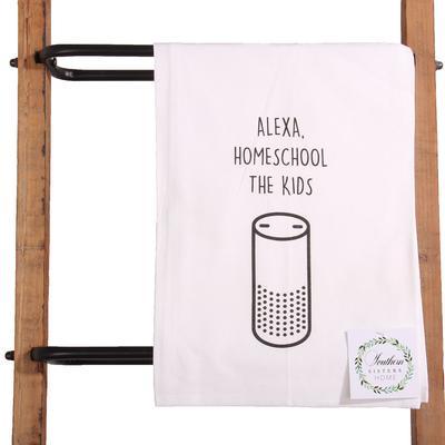 Alexa Home School Towel