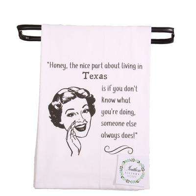 Honey Hand Towel