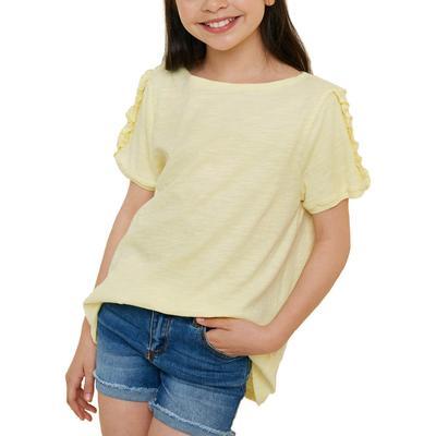Hayden Girl's Ruffle Sleeved Top
