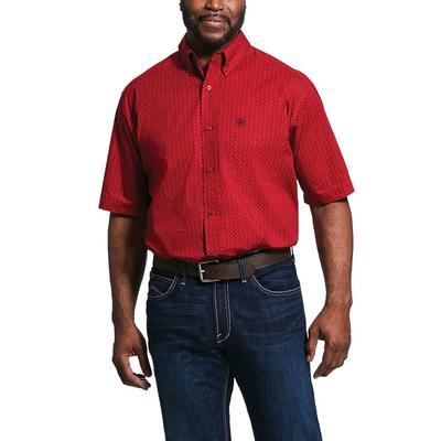 Ariat Men's Tamascal Short Sleeve Button Down Shirt