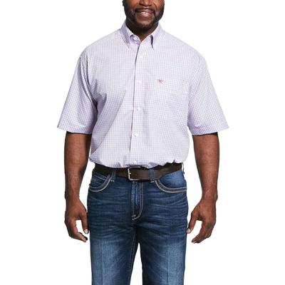 Ariat Men's Umson Wrinkle Free Classic Fit Shirt