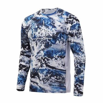 Huk Men's Mossy Oak Pursuit Long Sleeve Shirt
