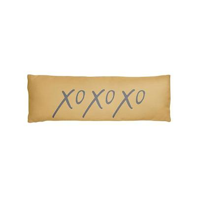 XOXOXO Long Lumbar Pillow