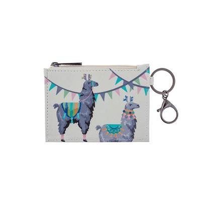 Llama Zip ID Holder