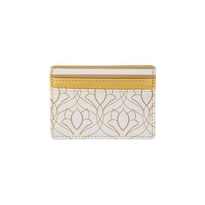 Gold Art Deco Card Holder