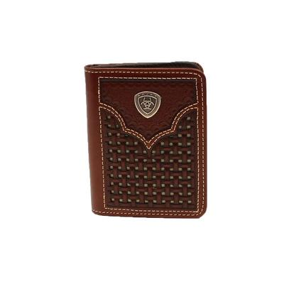 Ariat Men's Bifold Tooled Leather Wallet