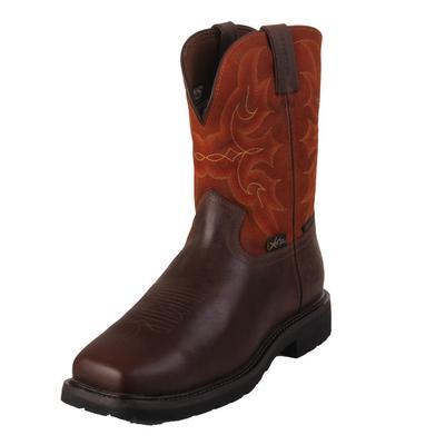 Justin Men's Ricochet Waterproof Pull On Work Boots