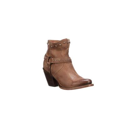 Lucchese Women's Tan Ani Ankle Boots