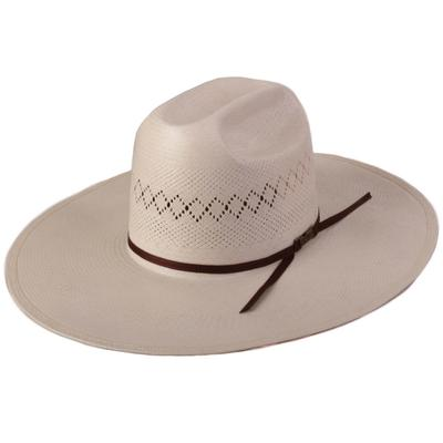 American Hat Co. Men's Chocolate Band Straw Hat