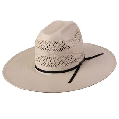 American Hat Co.Men's Double Vent Straw Hat