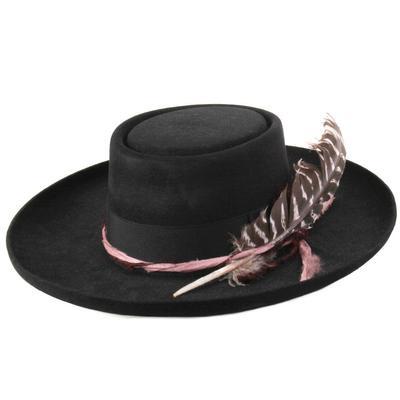 Stetson Women's Black Kings Row Felt Hat