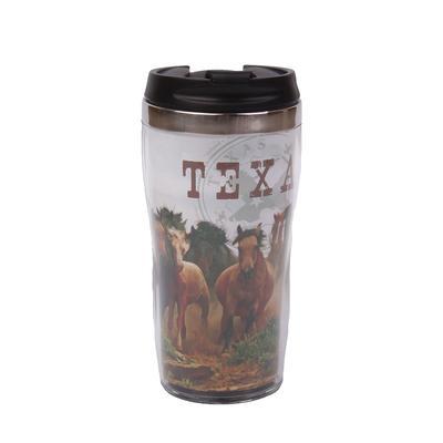 Texas Horse Thermos